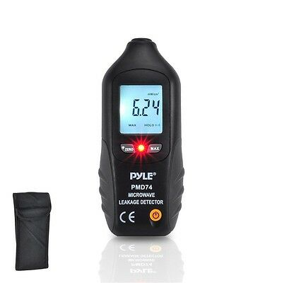 NEW Pyle PMD74 Digital LCD Microwave Leakage Detector -Never Needs Recalibration