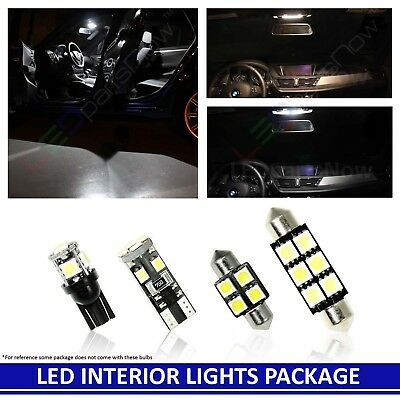 Interior Dome Map LED Light Bulb Package 2004 and up Ford F150 Truck Combo