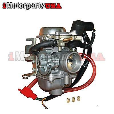 Performance Carburetor W/ Main Jet Pack For Honda Helix Cn250 Scooter Carb 86-08