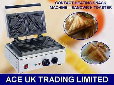 NEW Commercial Toastie Toasted Sandwich Maker Contact Grill Press