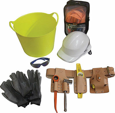 Scaffolding Tools, Belt & Workwear Kit + Scaffolders Fall Arrest Set