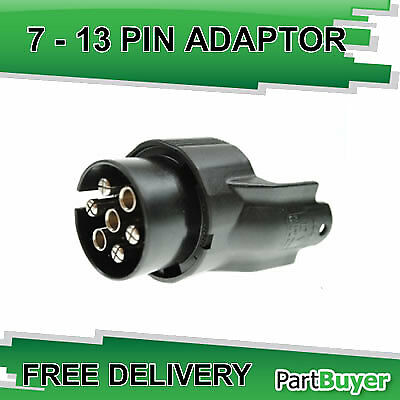 7 Pin N Type Vehicle To 13 Pin Trailer Conversion Adaptor 12 V  Maypole