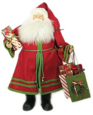 """24"""" Christmas Red Santa Carring Gift Bags S02408"""