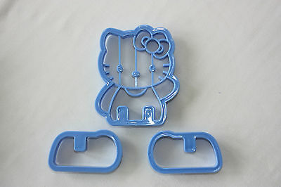 Hello Kitty, 3D Cookie Cutters, Cake Decorating, Biscuit, Sugarcraft