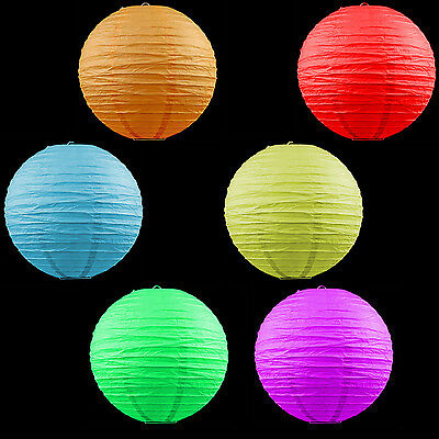 """12x 8""""/20cm MIX COLOR paper lantern wedding party home Party Chinese Decoration"""