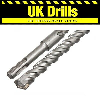 Sds + Plus Masonry Hammer Drill Bits Brick Concrete Stone Tungsten Carbide Tip