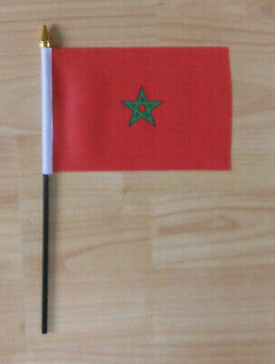 Morocco Country Hand Flag - small
