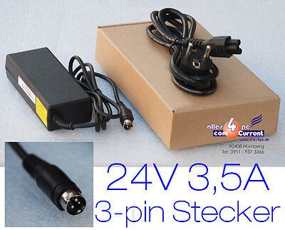 24V 3,5A Netzteil Power Supply Epson Tm-T88 Tm-T88Iii Tm-H5000 Tm-H6000Ii +Kabel