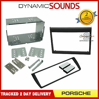 Porsche 911 (TYP996) 986 Boxster Double Din Car Stereo Fitting Kit Fascia Panel