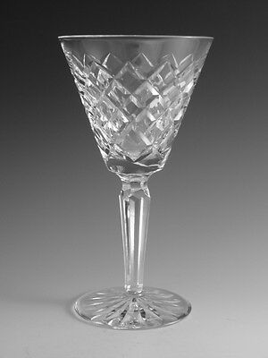 """WATERFORD Crystal - TYRONE Cut - Claret Wine Glass / Glasses - 6 1/2"""""""