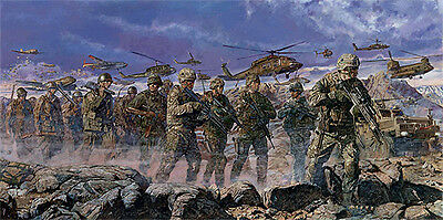 """Stands Alone, Together, Forever"" James Dietz Artist Proof - 506th PIR Currahee"