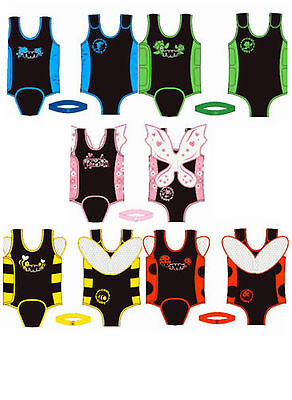 TWF BABY TODDLER WRAP WETSUIT swimsuit children tot infant warmer swimming pool