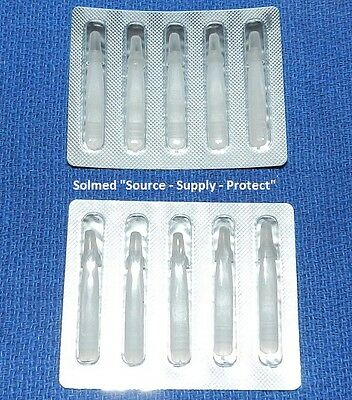 First Aid Splinter Probes Stainless Surgically Clean Foil Packs X 10 Pieces