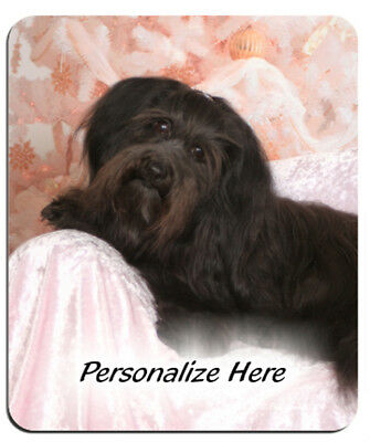 Havanese    black   ( 13 )     Personalized MousePad
