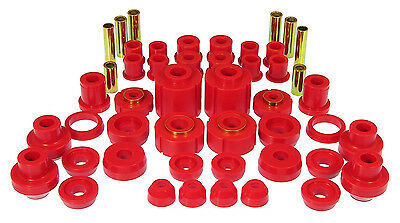 PROTHANE Total Suspension Complete Bushing Kit Ford F-150 F150 87-96 2WD Red