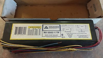 Advance RS2S60TP   RS-2S60-1-TP    Philips  Ballast
