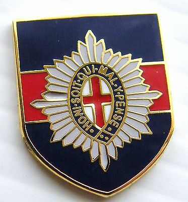 The Coldstream Guards Army Military Lapel Pin Badge Free Gift Pouch Mod Approved
