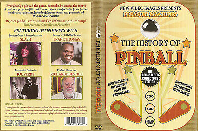 The History of Pinball DVD *Newly Remastered!*