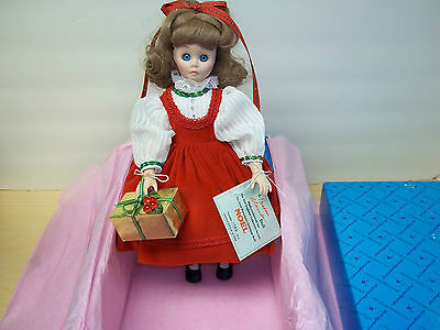 Noel - First Christmas Porcelain Doll by Madame Alexander - MIB - NRFB