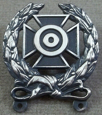 US Army Weapons Qualification Badge / Expert / Clutchback Design