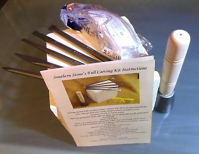 Stone Carving Starter Kit - 8 Piece