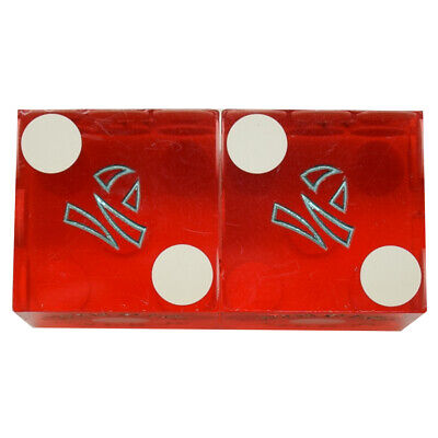 Casino Dice - Imperial Palace Hotel Pair Used Dice Las Vegas Nv - Free Shipping*