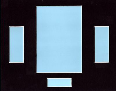 """Film Cell Mounts  10""""x 8"""" 2 strips of cells  Portrait Picture F002"""