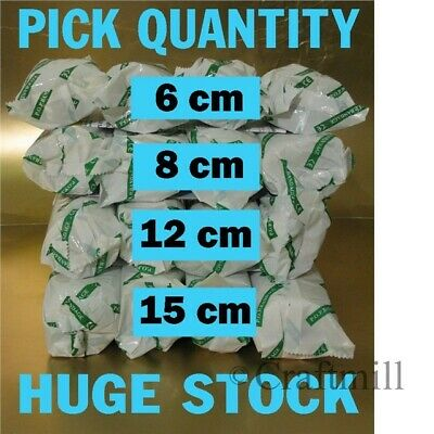 MODROC Modrock 6cm, 8cm, 15cm Plaster of Paris Bandage - PICK SIZE - Top Quality