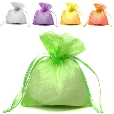 15 Colour/3 Size Luxury Quality Organza Wedding Jewellery Gift Pouch Favour Bags