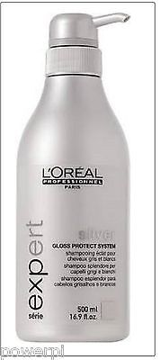 shampooing Silver 500ml- l'oréal silver 500ml argent