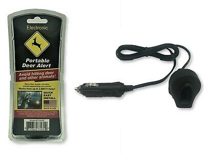 Car Deer Alert / Auto Deer Whistle Horn - Portable Electronic Whistles