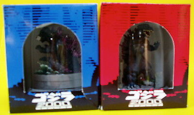 Miniature Godzilla  Diorama  With Dome 2000  Destroy Monsters Mint!