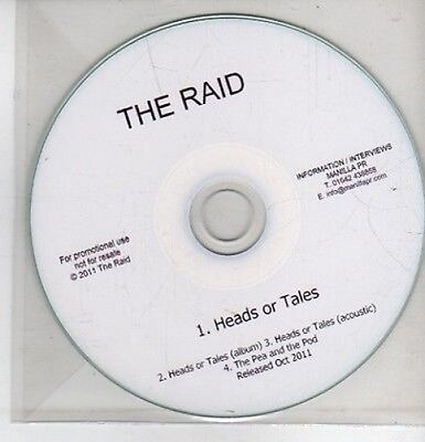 (CQ55) The Raid, Heads or Tales - 2011 DJ CD