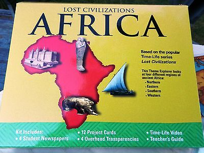 Civilizations of Africa - History Geography Unit Study Curriculum; Time-Life