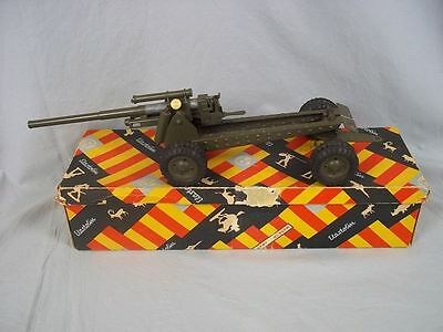 Boxed Elastolin Hausser Post-War Long Range Gun (Model NR.726)