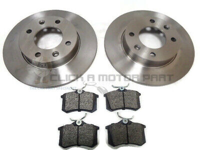 Citroen C2 1.6 16V Vtr Vts Gt Rear Brake Discs And Mintex Pads Mdb1377