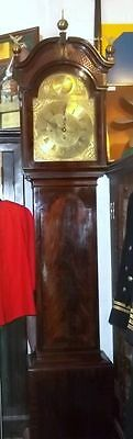 English c1880 3 Train Westminster Chimes & Striking 8 Day Mahogany Clock
