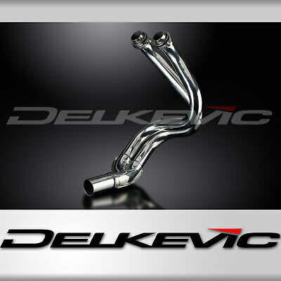 Kawasaki KLE650 07-14 Versys 650 Exhaust Header Down Pipes Stainless Steel