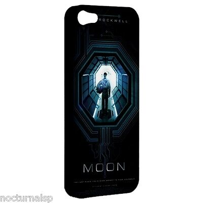 NEW iPhone 5 Hard Shell Case Plastic Cover Moon Astronaut