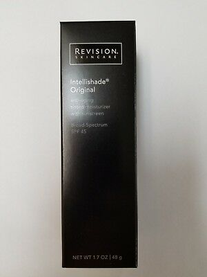 Revision Intellishade SPF45 Moisturizer Original 1.7oz ex 2/20 + 2 Bonus Samples