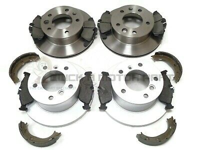 MERCEDES SPRINTER 311 CDi FRONT & REAR BRAKE DISCS AND PADS AND HANDBRAKE SHOES