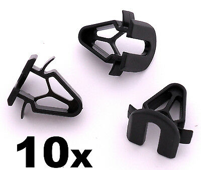 10x Volvo Plastic Trim Clips- Interior fascia panels boot linings, pillar covers