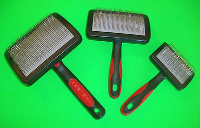 Jeffers UNIVERSAL SOFT-PIN SLICKER BRUSH S, M, L Dog Cat Undercoat Grooming Tool