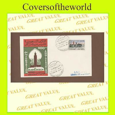 Morocco 1960 900th Anniversary of Foundation First Day Cover