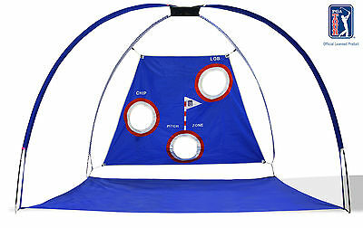 PGA TOUR Pro Tour Golf Driving Range & Chipping Net - Large Super Sized Practise