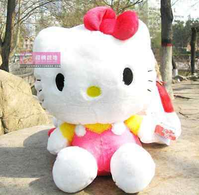 """12"""" New withTags Sanrio Classic Pink Hello Kitty Large Plush Doll Toy Figure"""