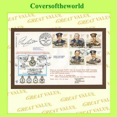 G.B. 1986 RAF set on official First Day Cover, RFDC 49