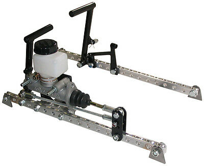 Micro Sprint Gas & Brake Pedal System W/wilwood Master Cylinder,sawyer,pmp,pace