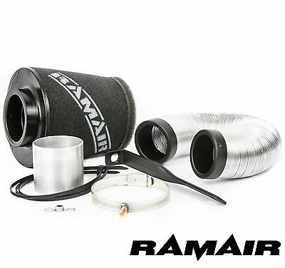 RAMAIR Intake Cone Air Filter Induction Kit for Vauxhall Corsa D & E - 1.2 & 1.4