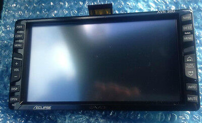 NEW ECLIPSE AVN 20D 50D DVD GPS NAVIGATION LCD DISPLAY  TOUCH SCREEN FACE PANEL